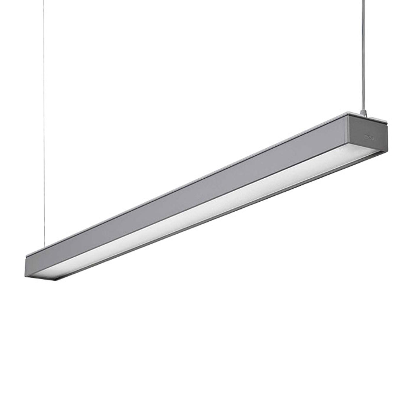 Lampa wisząca biurowa LED Reed-1500 MP, szara