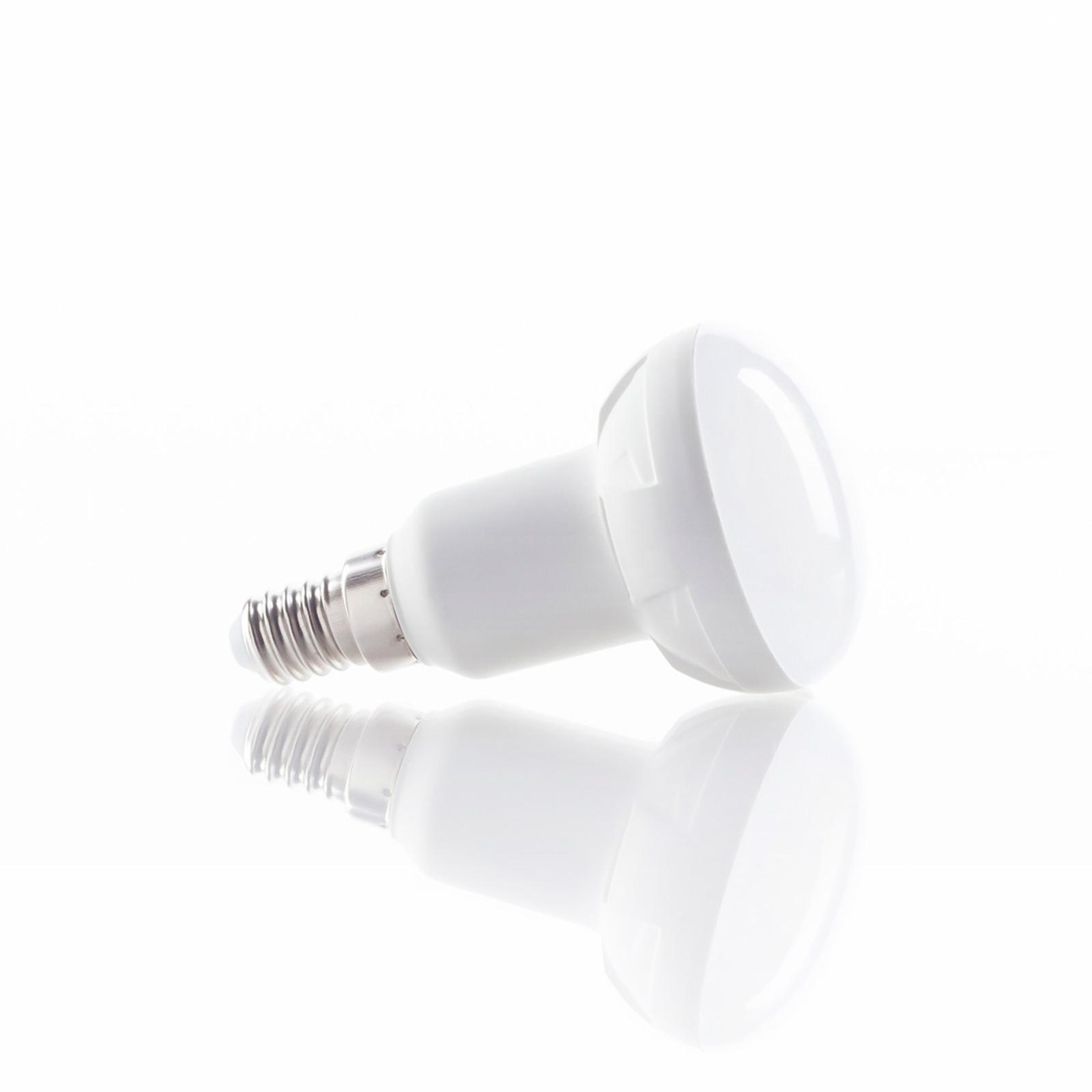 E14 7W 830 LED-reflektorlampa varmvit 120 grader