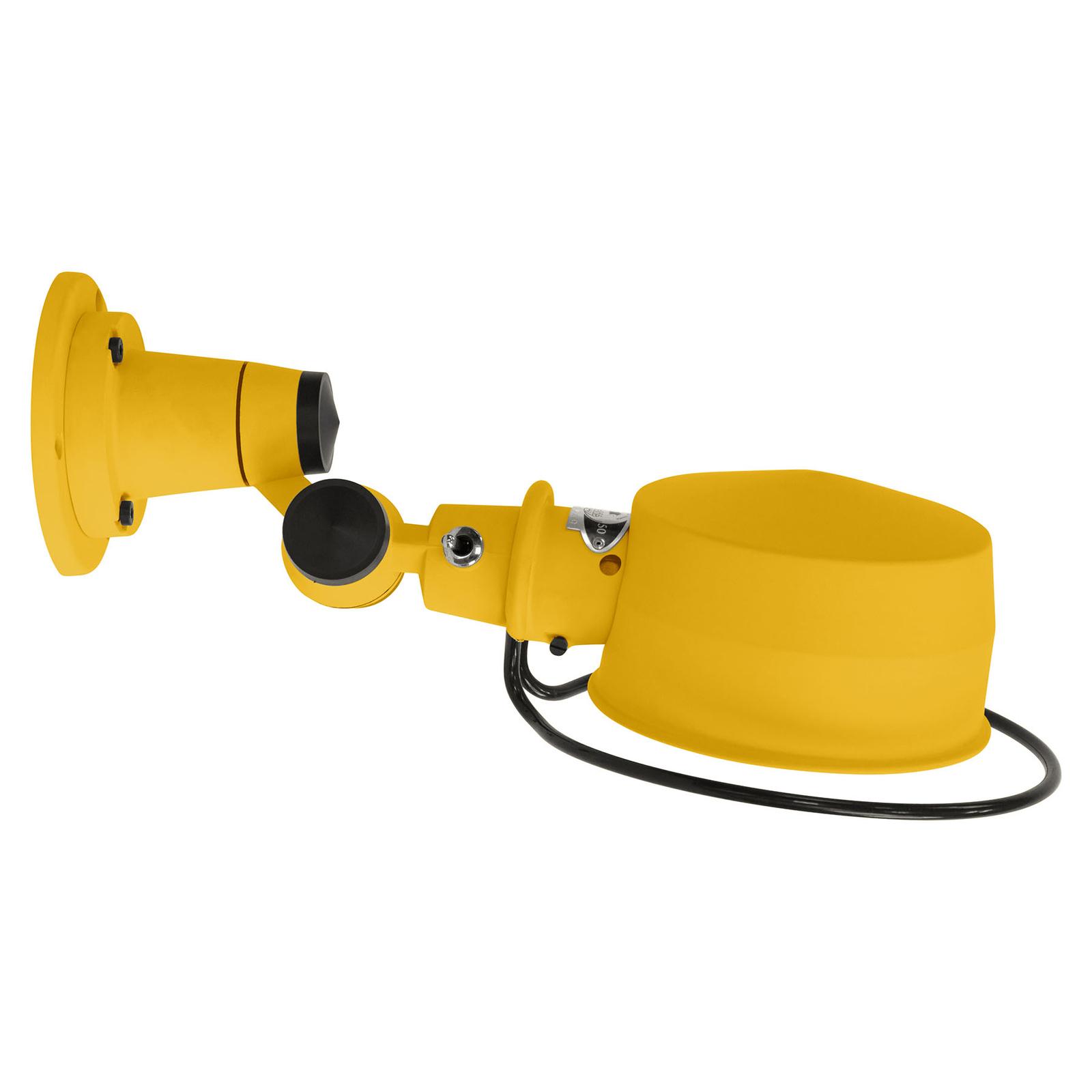 Jieldé Lak L1000 kloubové nástěnné světlo, žlutá