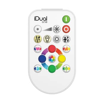 iDual telecomando One Flat RGBW