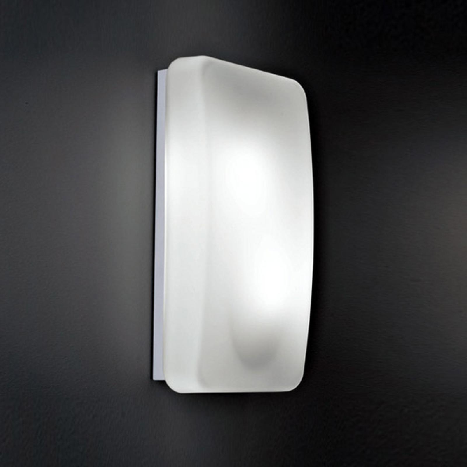 Glazen wandlamp Rialto, 20 x 40 cm