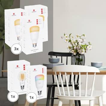 Yeelight Smart set 5 lampadine LED dim/color/filam
