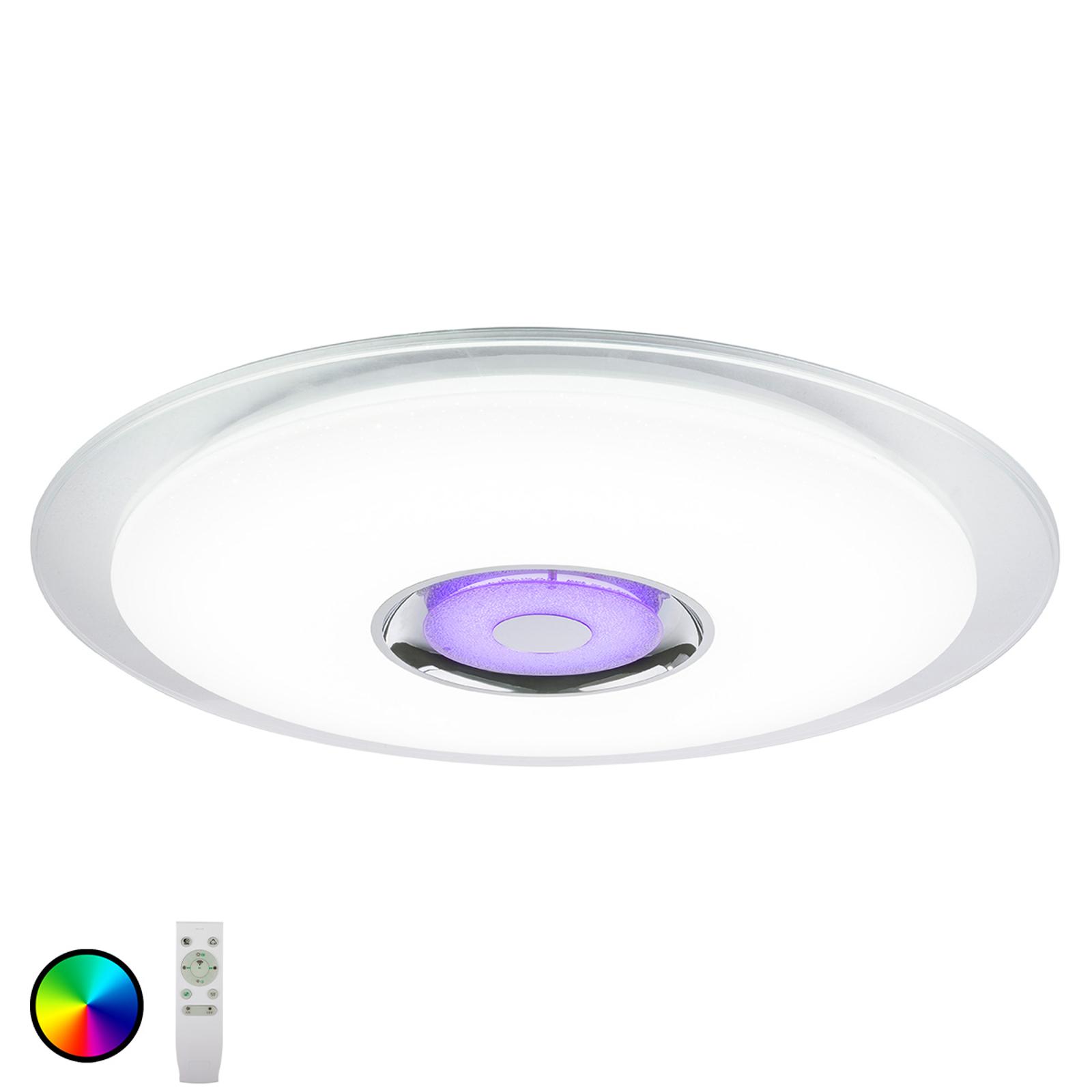 LED plafondlamp Tune RGB met luidspreker Ø 60