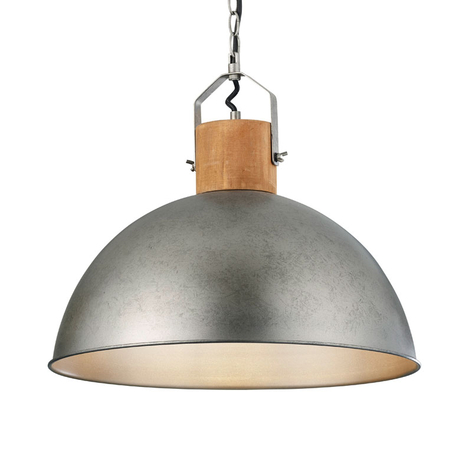 Hanglamp Delhi in industrieel ontwerp, 1-lamp
