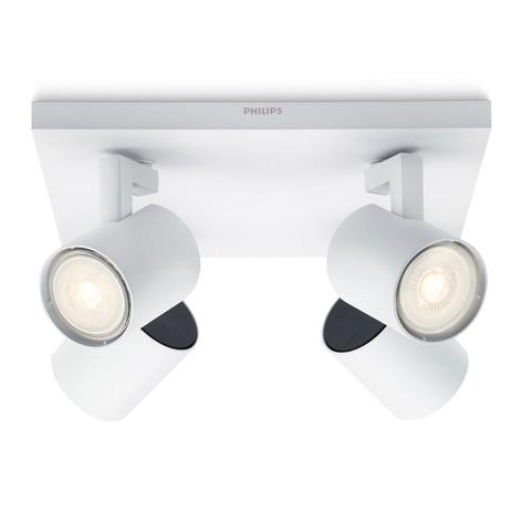 Philips Runner LED plafondlamp wit 4-lamps
