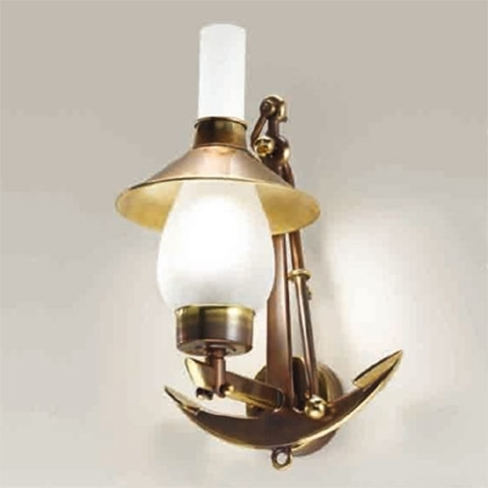 Grecale - forankret væglampe
