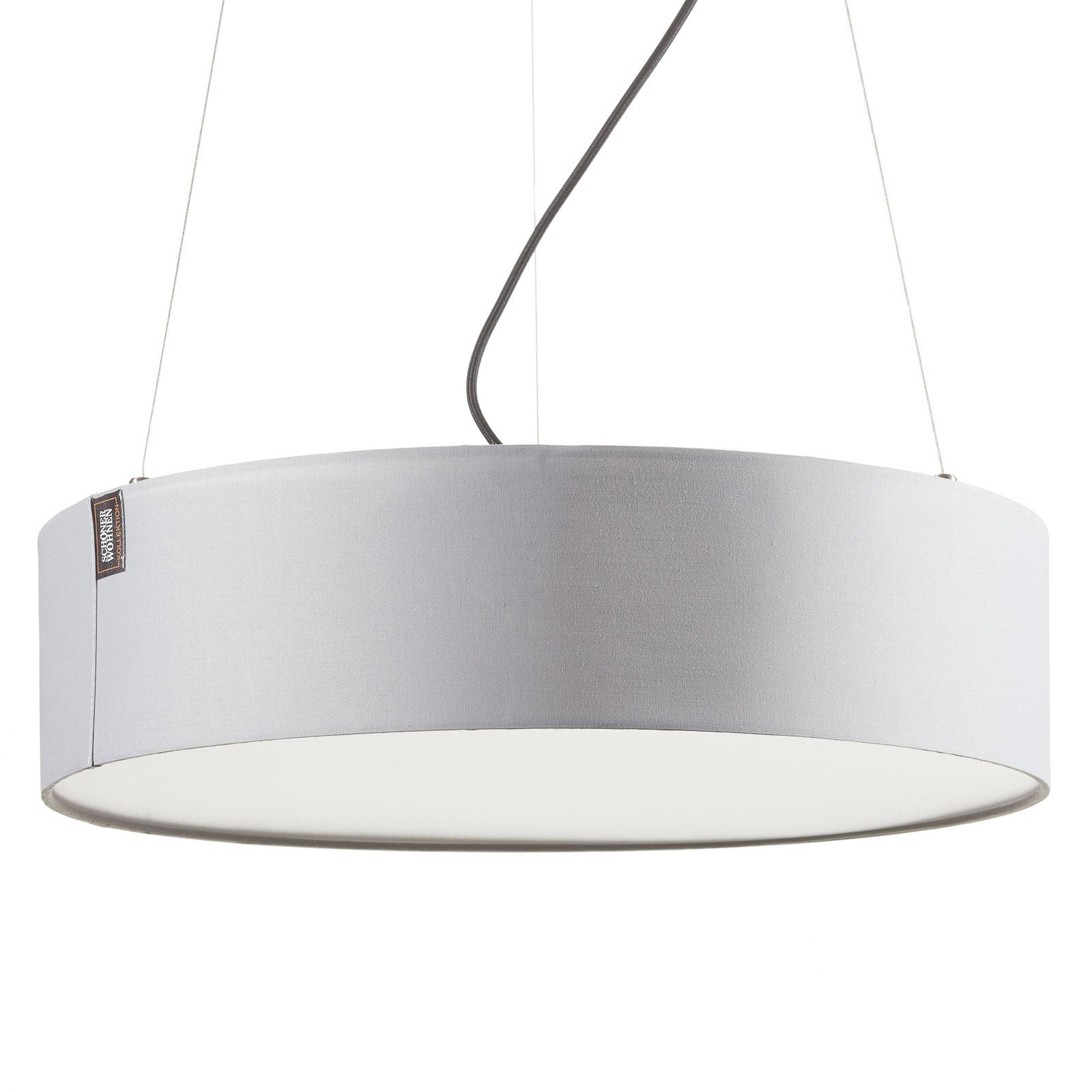 Schöner Wohnen Pina lampa wisząca jasnoszara