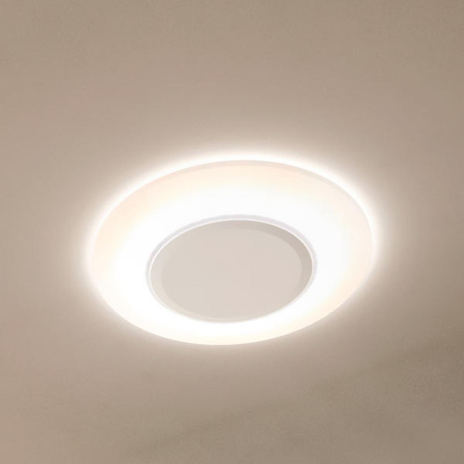 LEDVANCE Ring LED-Deckenleuchte, weiß, 28cm