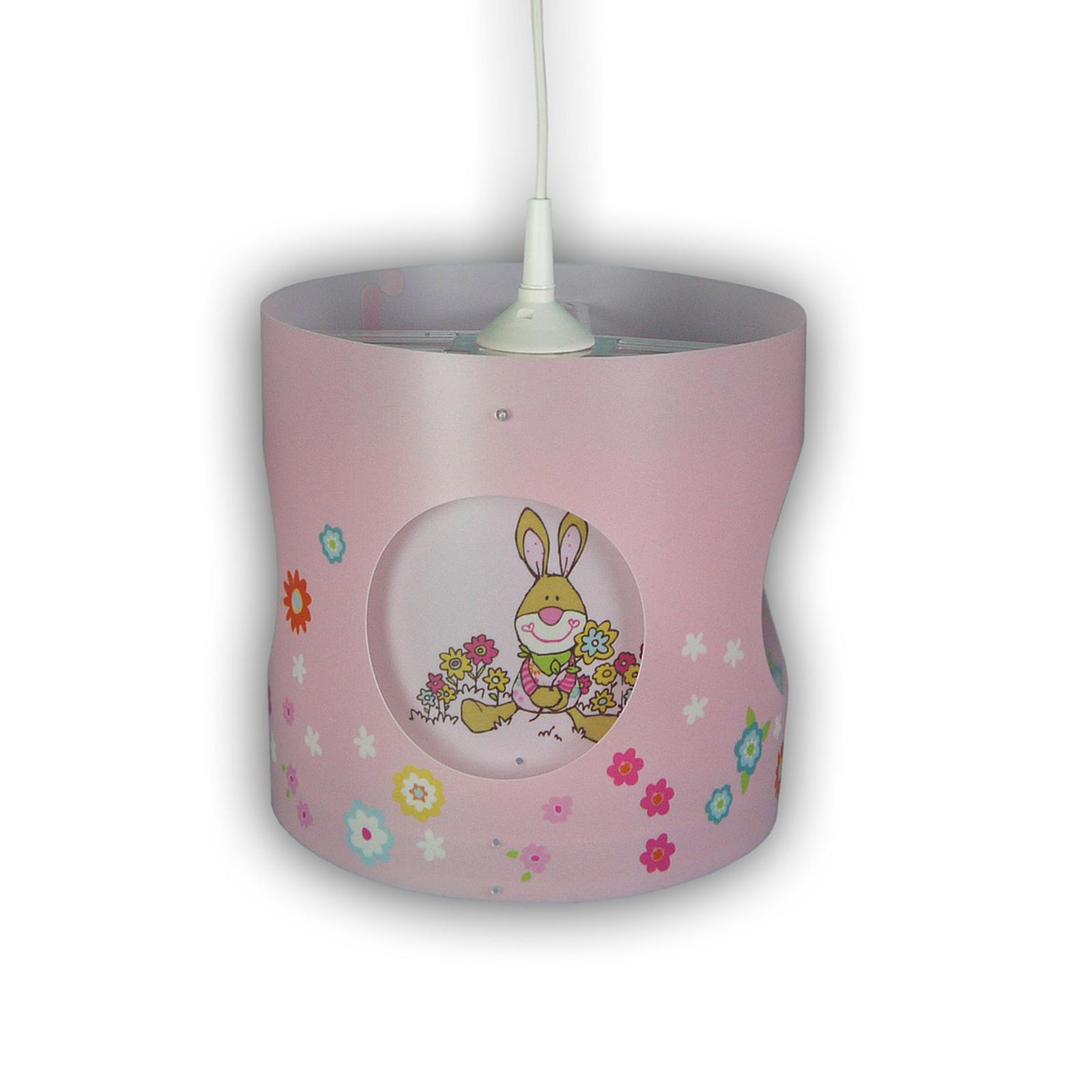 Bungee Bunny Kinderzimmer-Hängeleuchte, drehend
