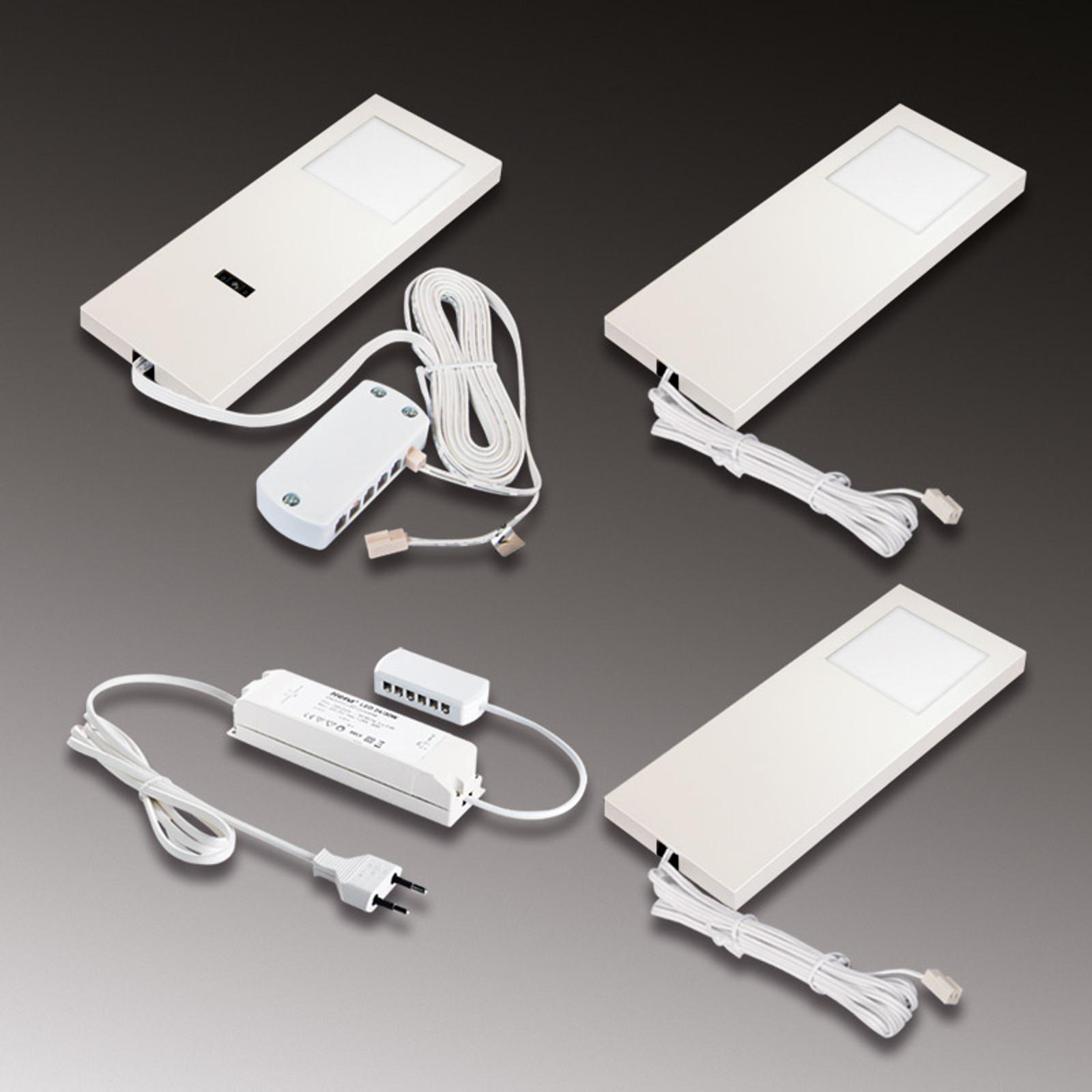 LED sous meuble Slim-Pad F 3000K blanche par 3