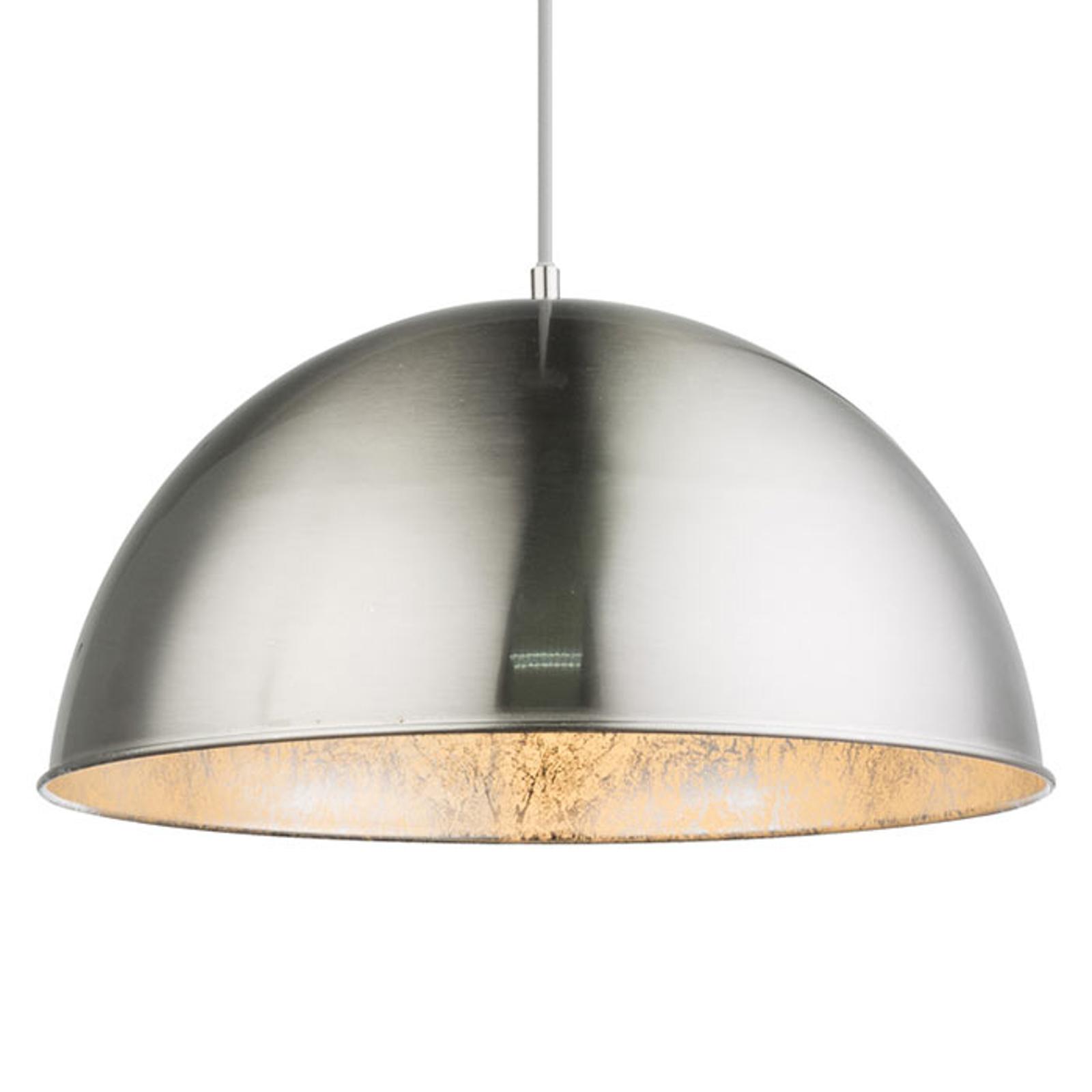 Lampadaire métallique Nosy nickel/argenté