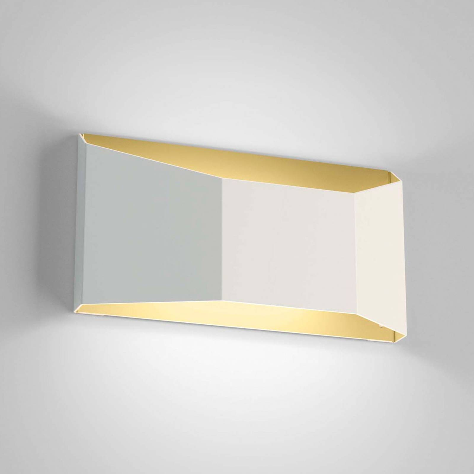 Dreidimensional gestaltete LED-Wandleuchte Esa