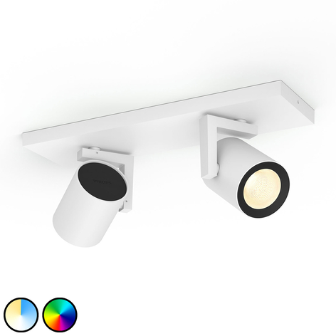 Philips Hue Argenta LED-spot, 2 lyskilder