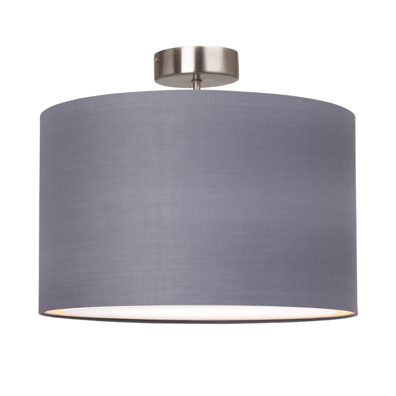 Enkel Clarie loftlampe i grå