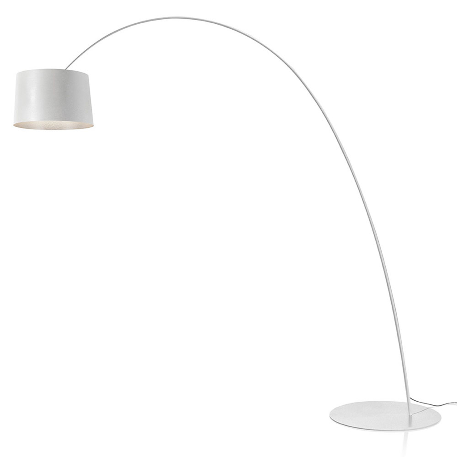 Foscarini Twiggy MyLight -LED-lattiavalo valkoinen