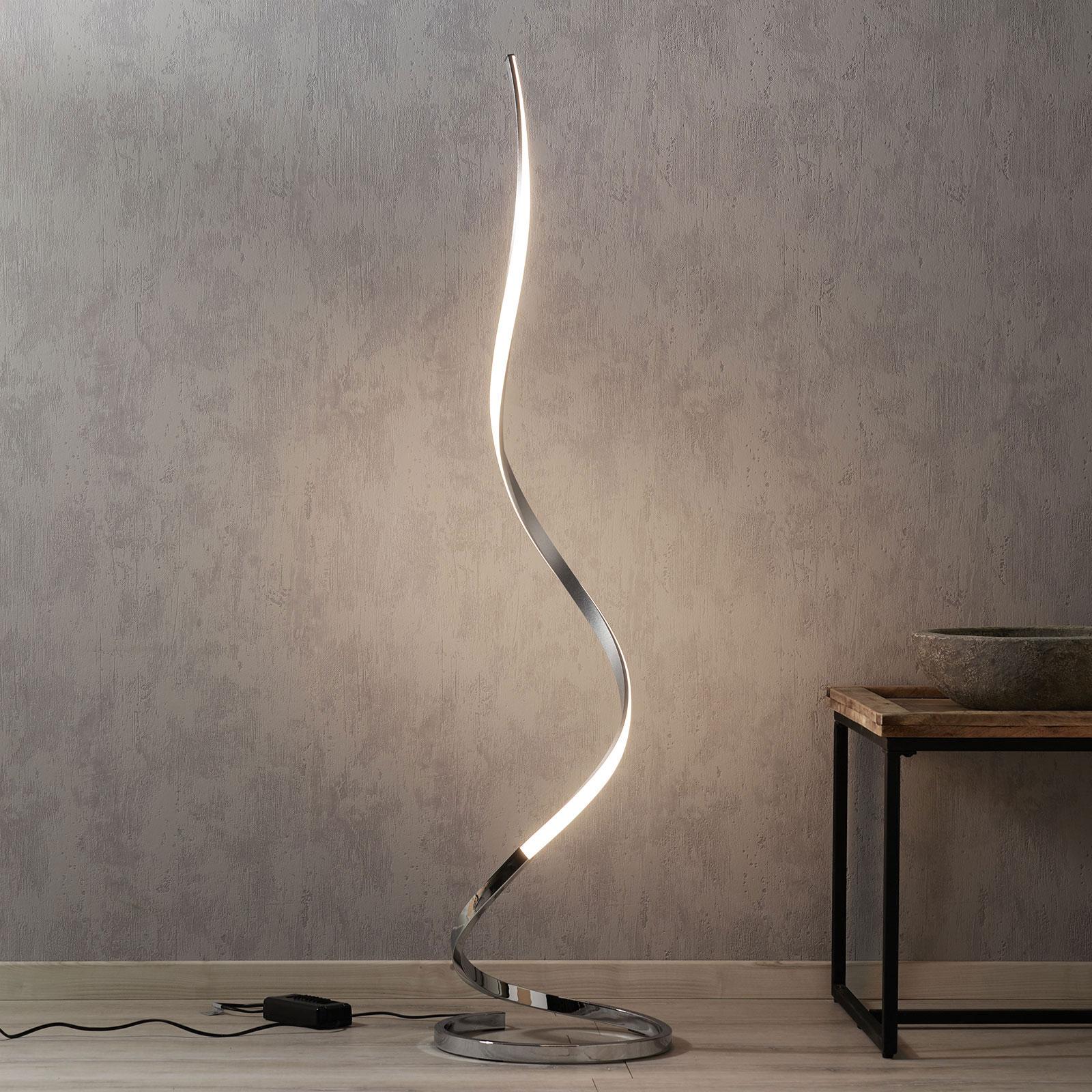 Lampada LED da terra Nur 148 cm dimmerabile