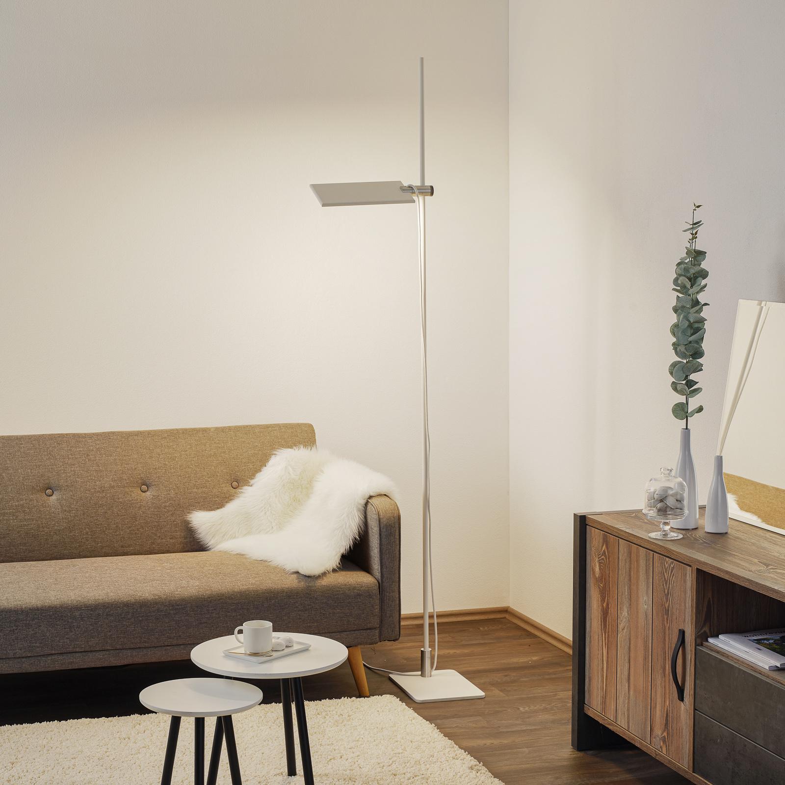 ICONE GiuUp LED-uplight lampe, kan dæmpes, hvid