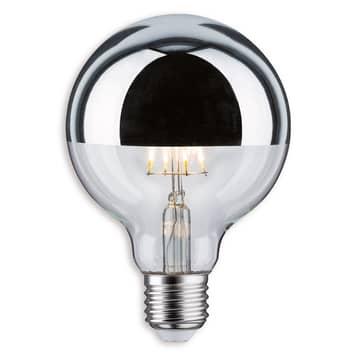 Paulmann LED-Kopfspiegel E27 G95 4,8W 827 silber