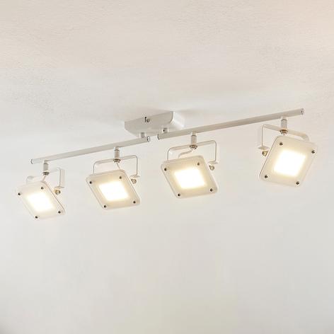 LED-kattospotti Juliana himmennettävä 4-lamppuinen