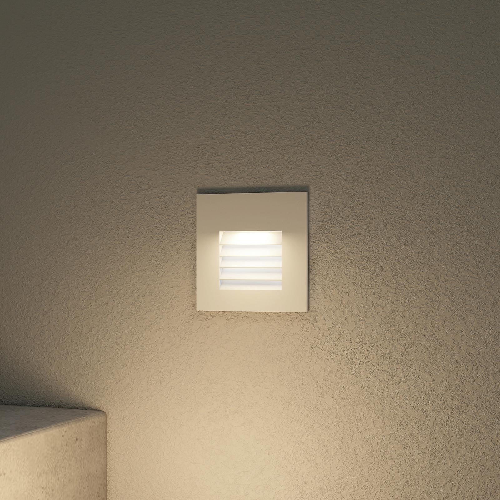 Arcchio Makio LED-Einbauleuchte, weiß