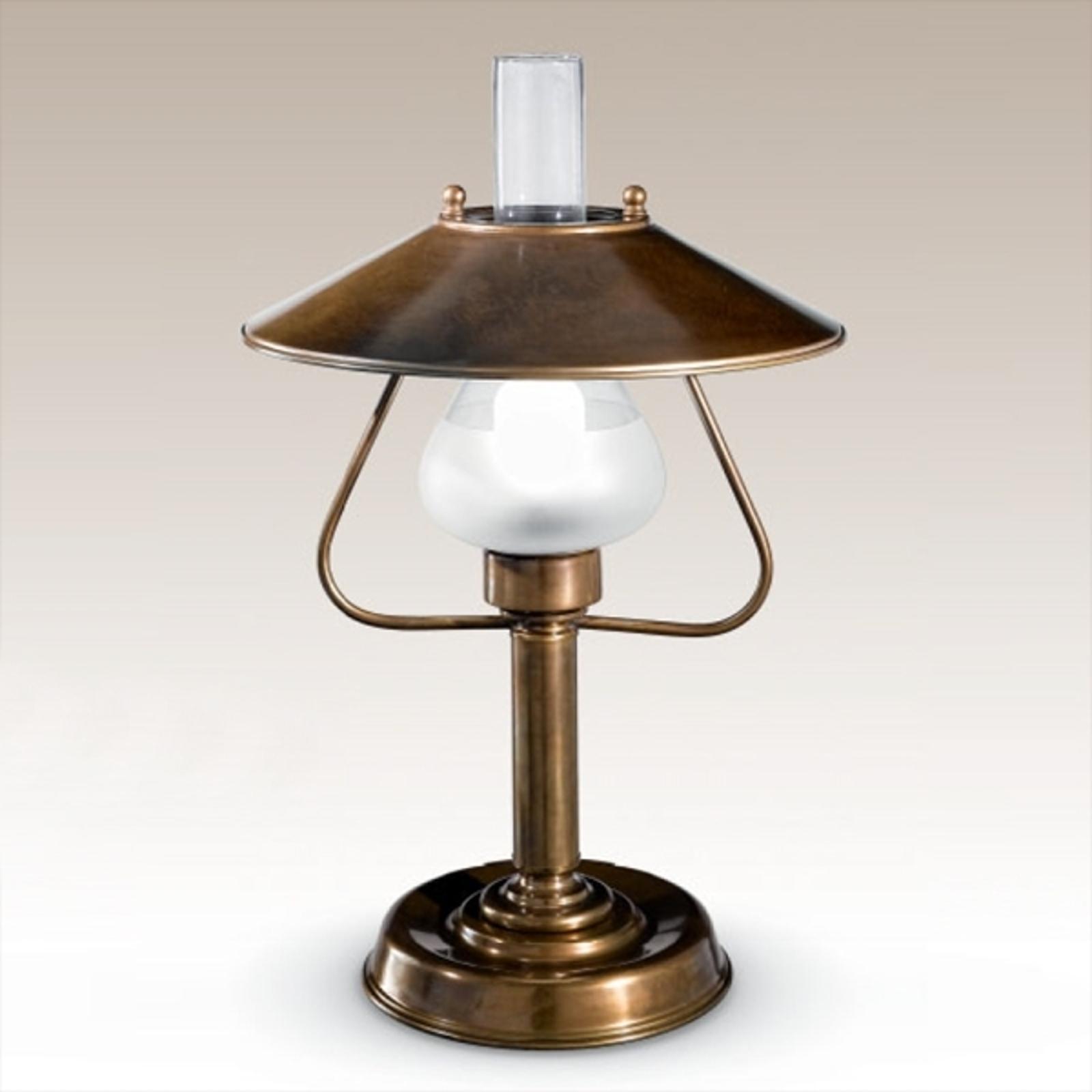 Lampa stołowa Barchessa o ładnym kształcie