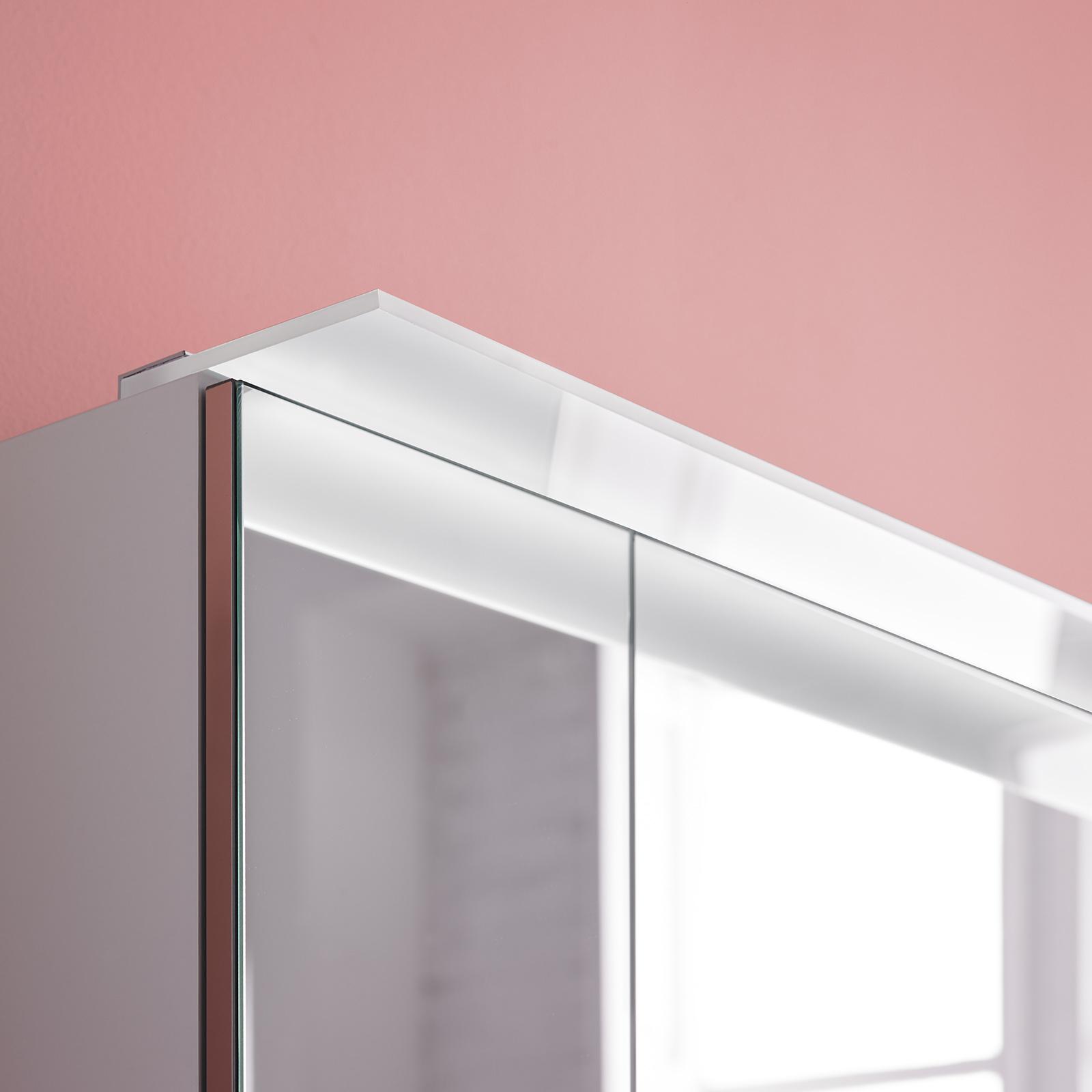 LED-möbelpåbyggnadslampa Adele, bredd 80 cm