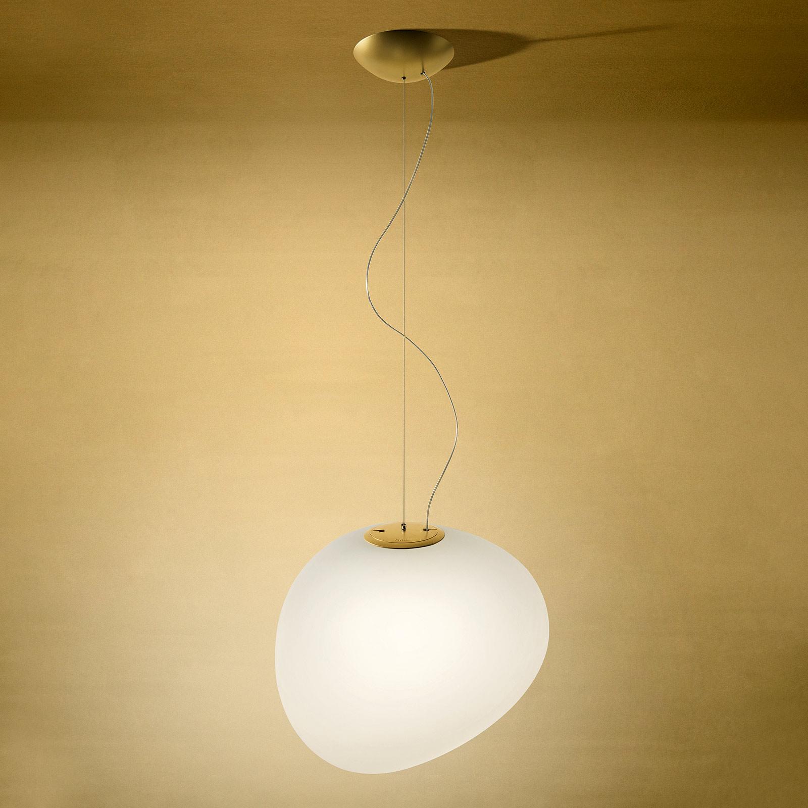 Foscarini MyLight Gregg media hængelampe, gylden