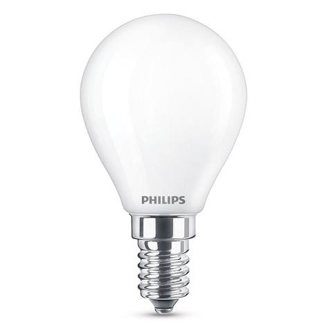 LED druppellamp E14 2,2W, warmwit, 250 lumen