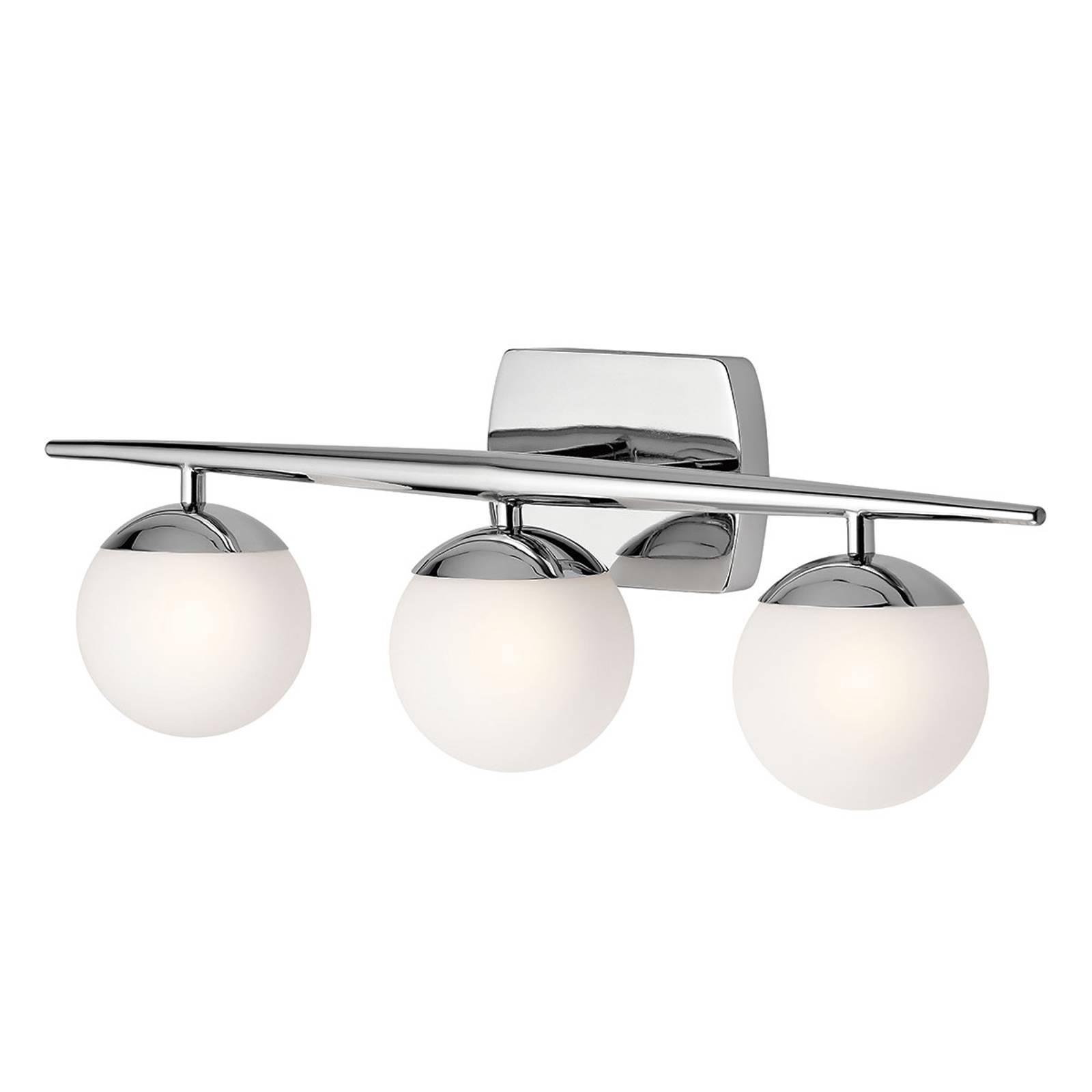 LED badkamer wandlamp Jasper, 3-lamps