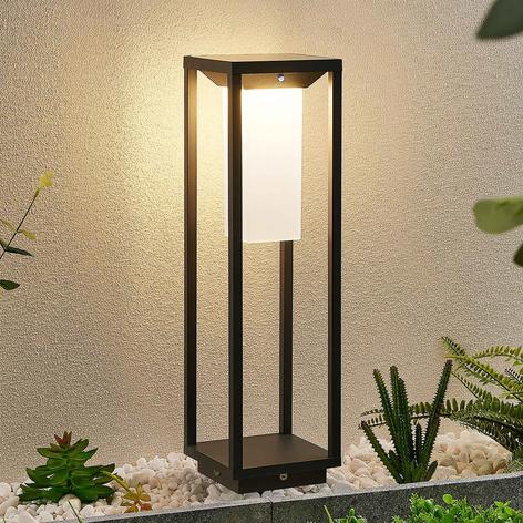 Lucande Eliel LED-Solarsockelleuchte, 50 cm