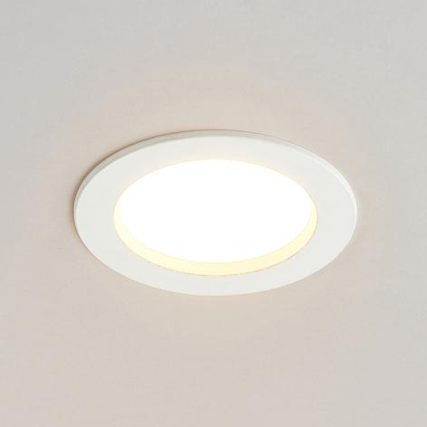Arcchio Milaine LED inbouwlamp, wit, dimbaar
