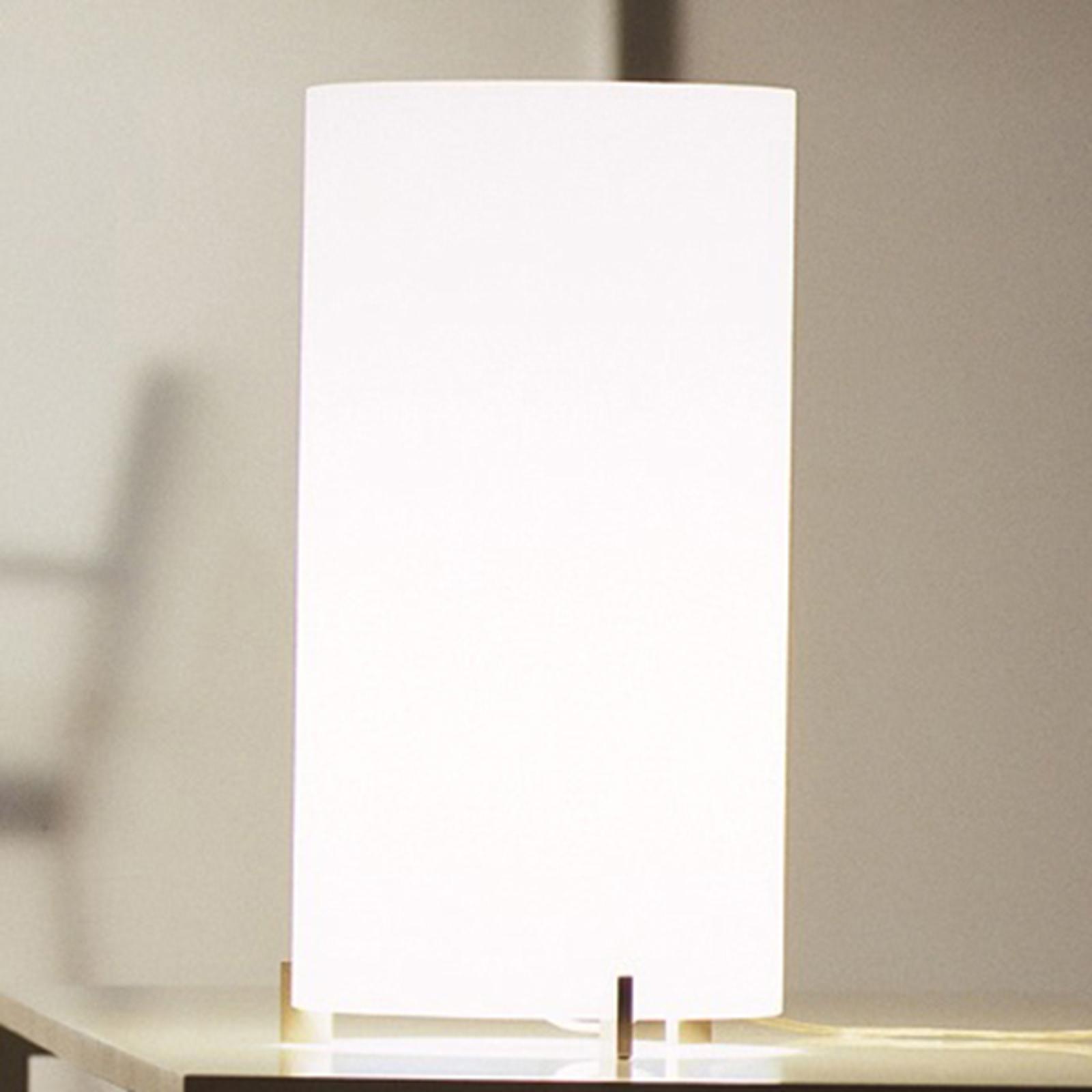 Prandina CPL T1 bordlampe krom, opalglas