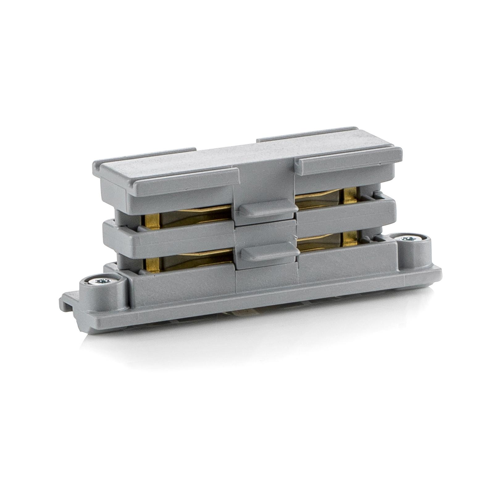 Linearverbinder für HV-Stromschiene Noa, grau