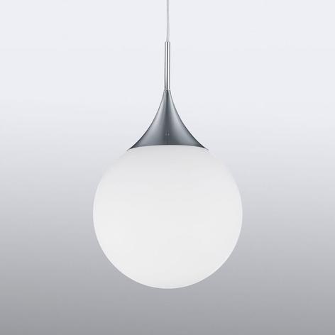 Lampada sosp vetro forma sferica Midas