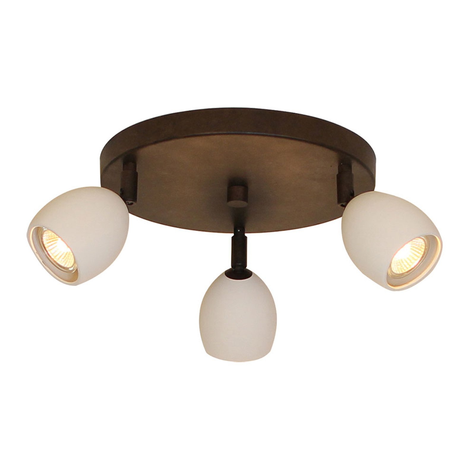 Menzel Provence lampa sufitowa 3-pkt. okrągła