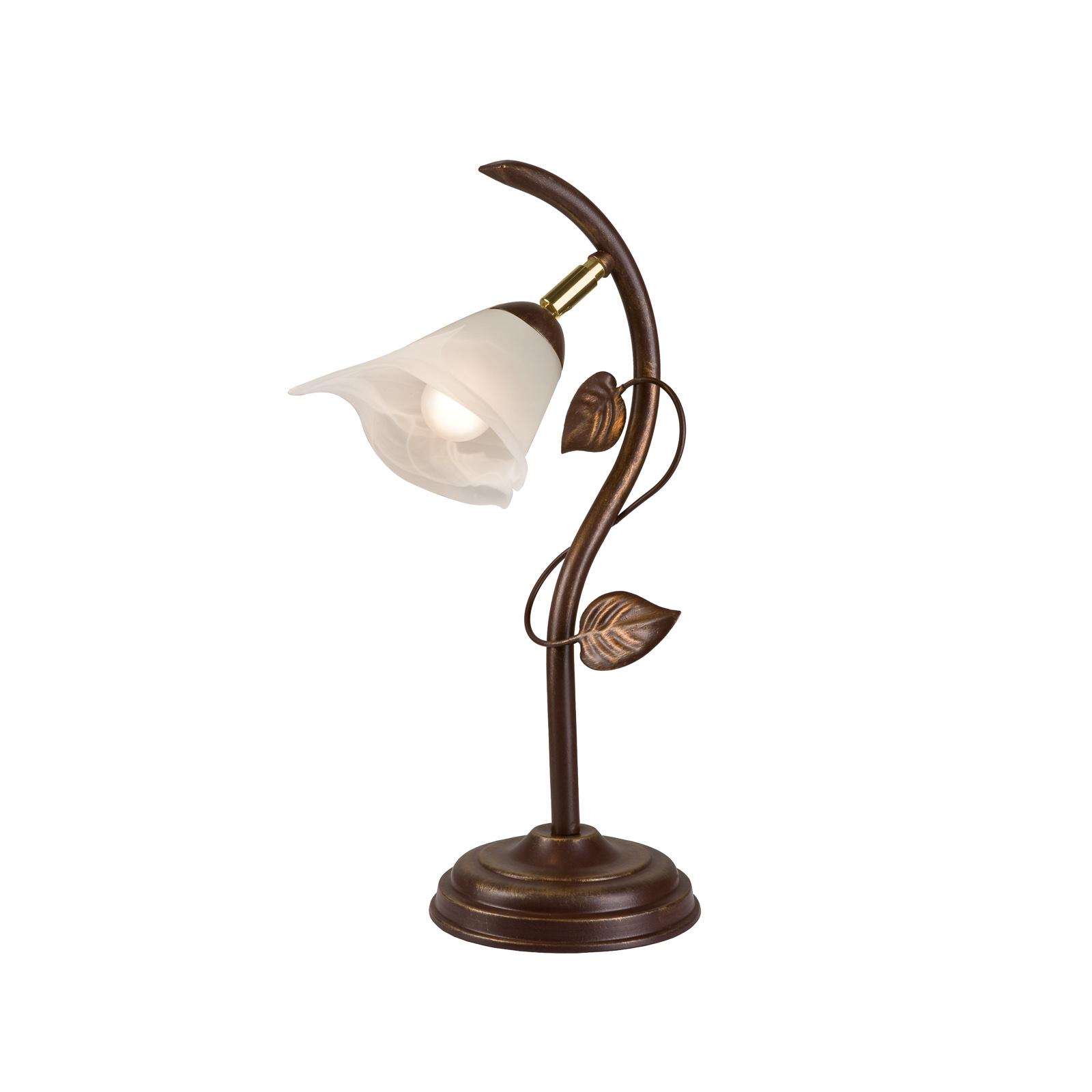 Bordlampe Siena, florentinstil, høyde 40 cm