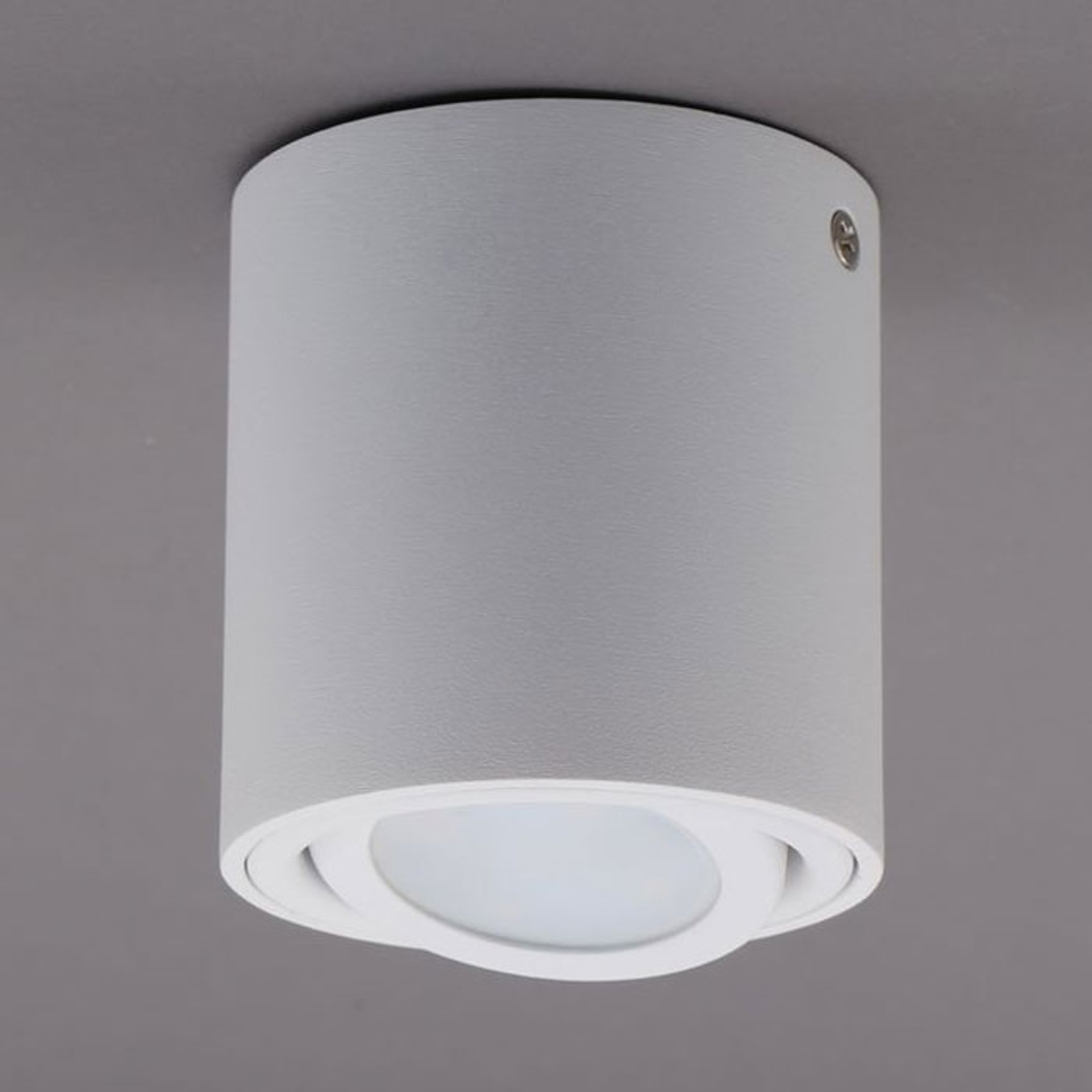 LED plafondlamp 7119 met GU10 LED, wit