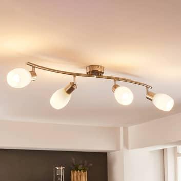 Nelilamppuinen LED-kattovalaisin Arda, easydim