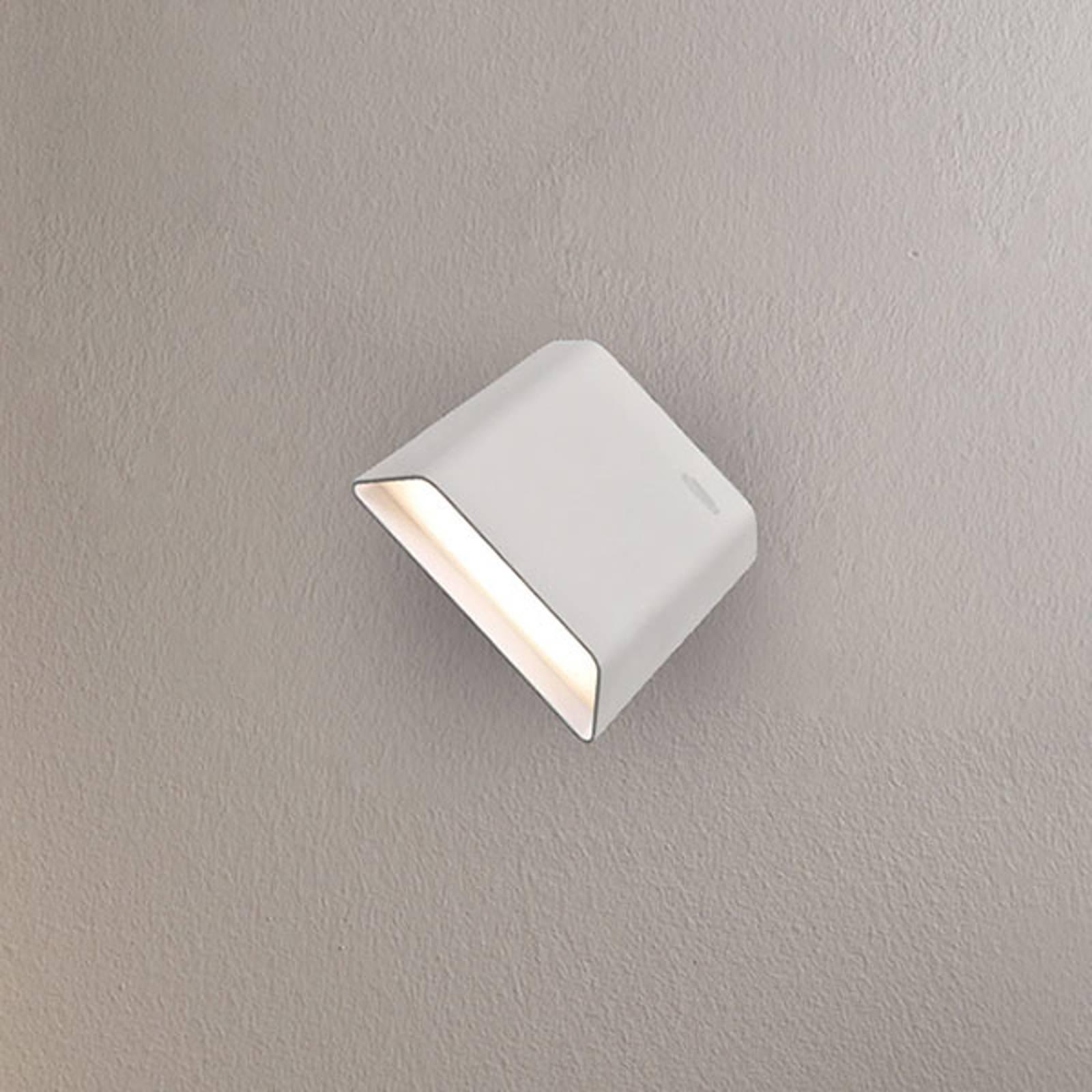 Applique LED Biak, pivotante/basculante, blanche