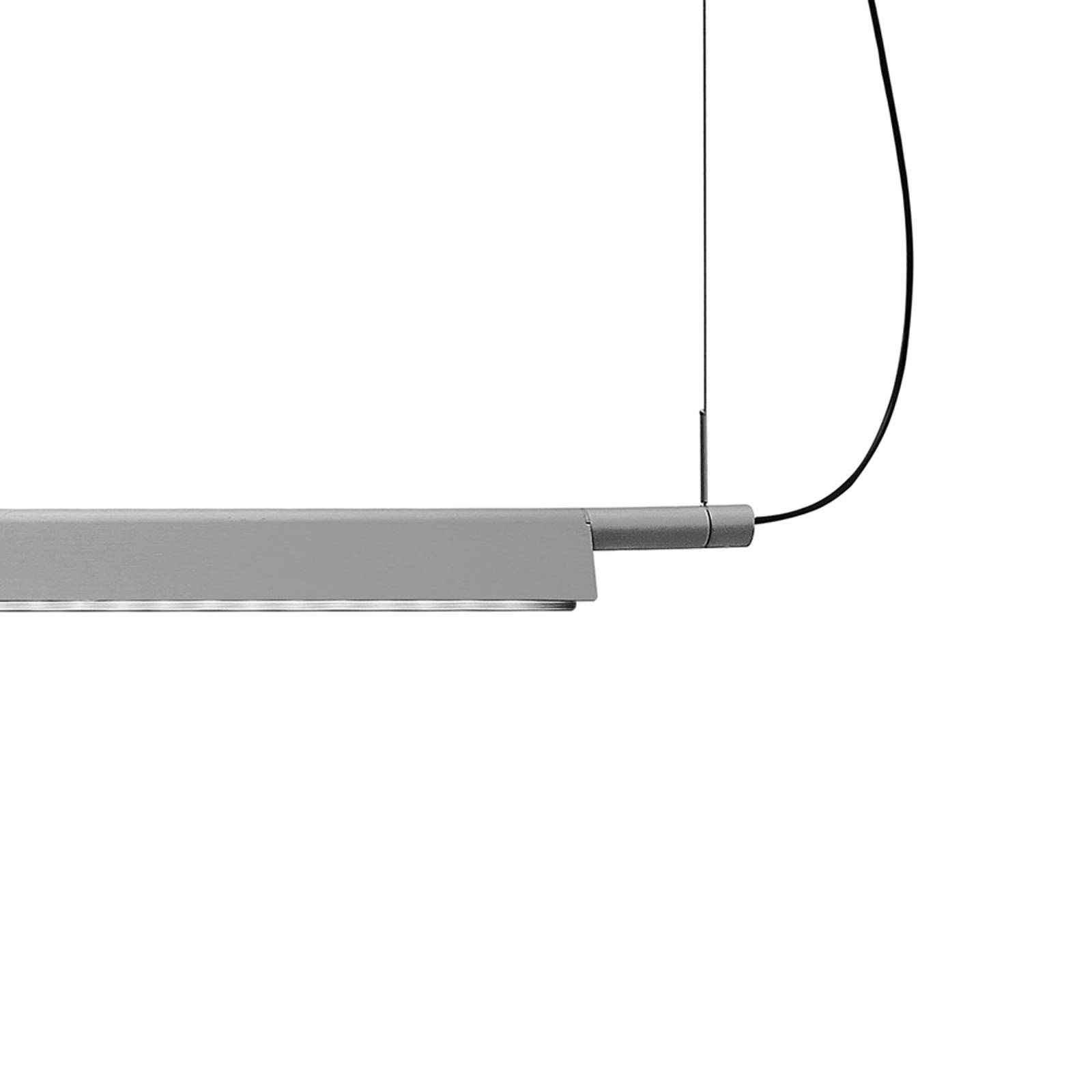 Luceplan Compendium – lampa wisząca LED, aluminium