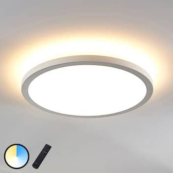 LED-panel Brenda CCT, fjernbetjening, Ø 40cm