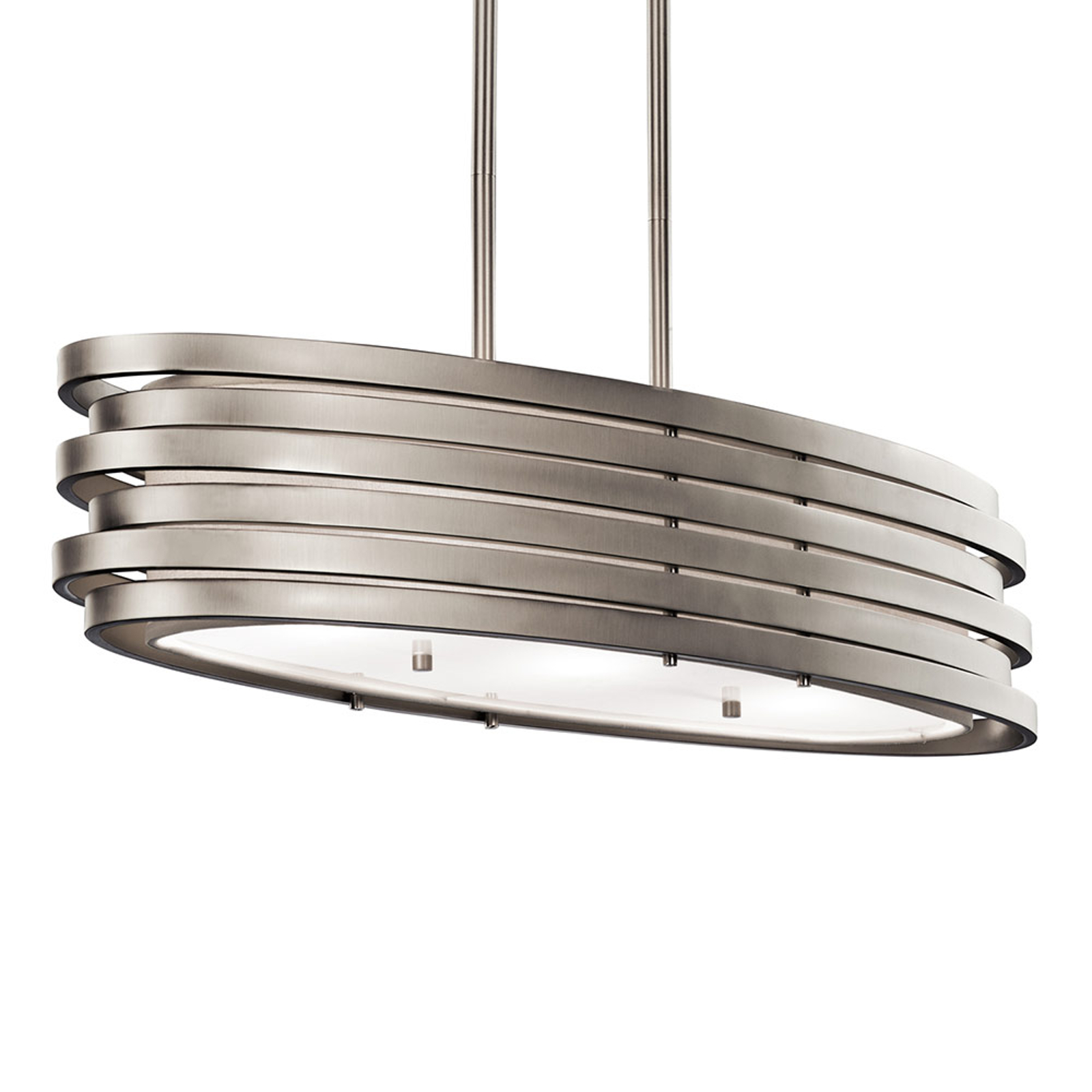 Hanglamp Roswell, ovale vorm