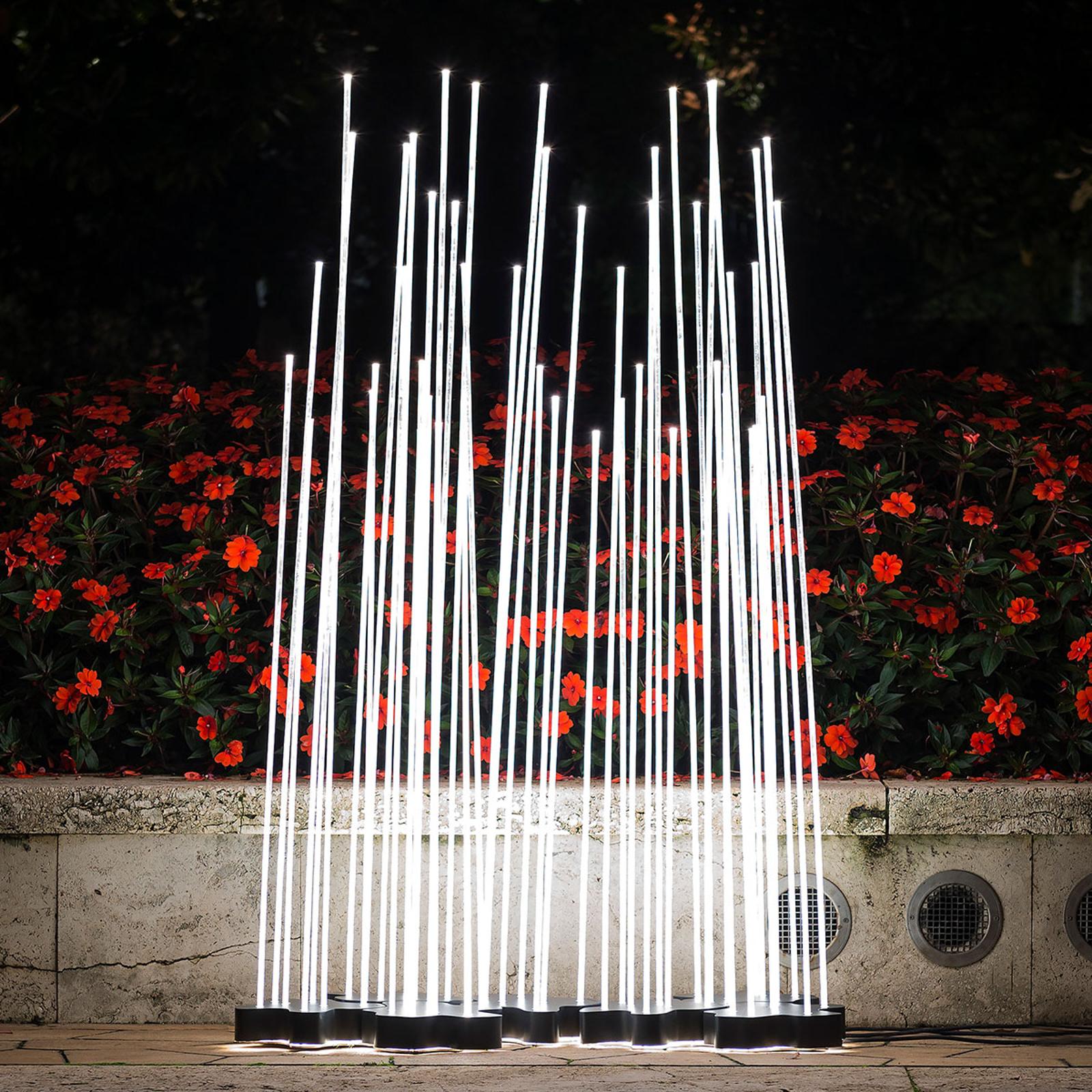 Artemide Reeds IP67 Triple LED-maavalaisin 1-os.