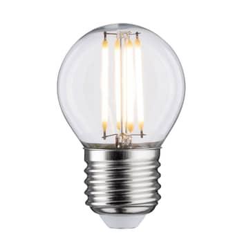Lampadina LED E27 5W goccia 2.700K trasparente