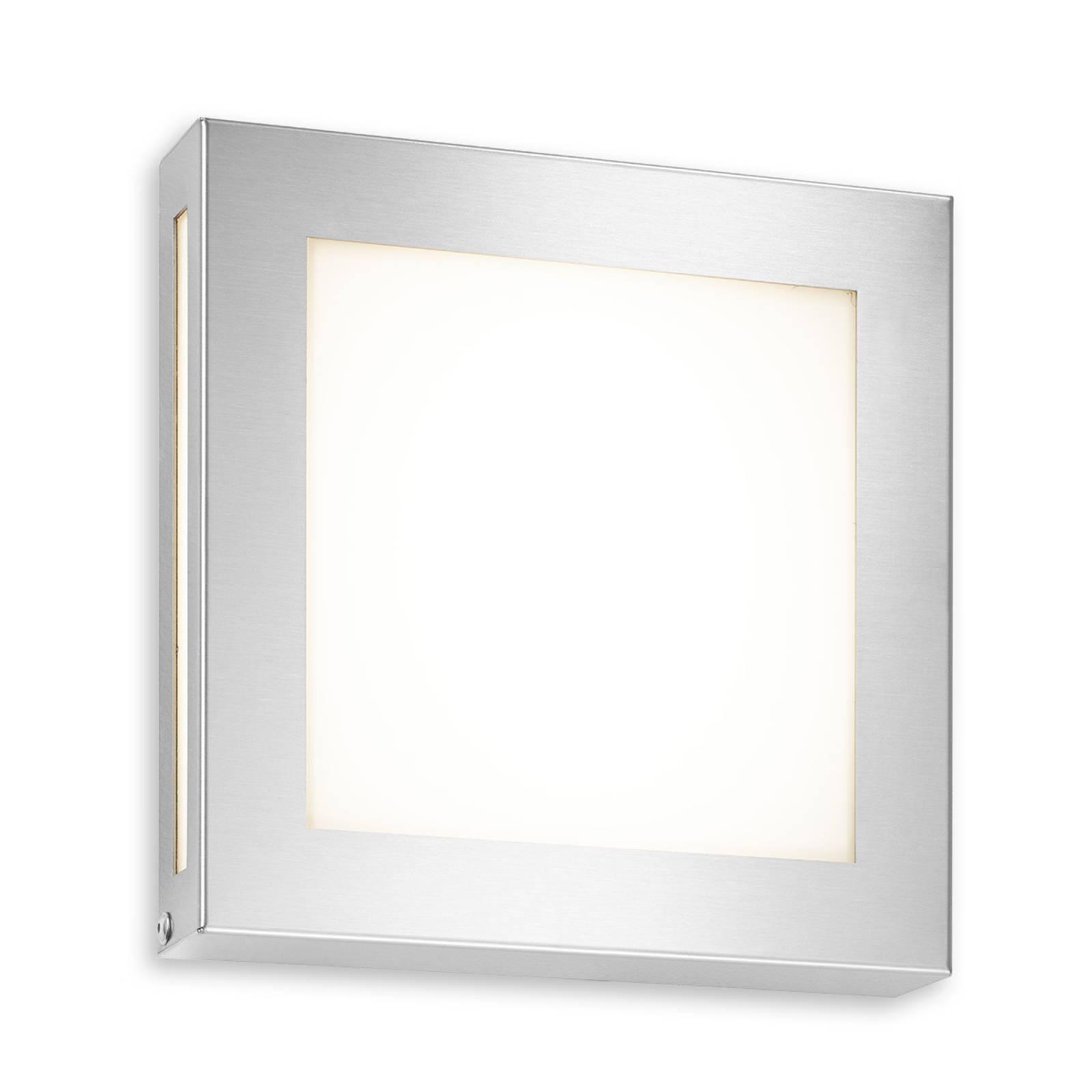 Roestvrijstalen buitenwandlamp Legendo Mini m. LED