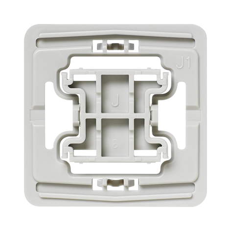 Homematic IP adaptateur interrupteurs Jung J1 1x