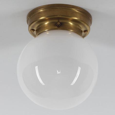 Plafoniera D99-115 op B con paralume in vetro