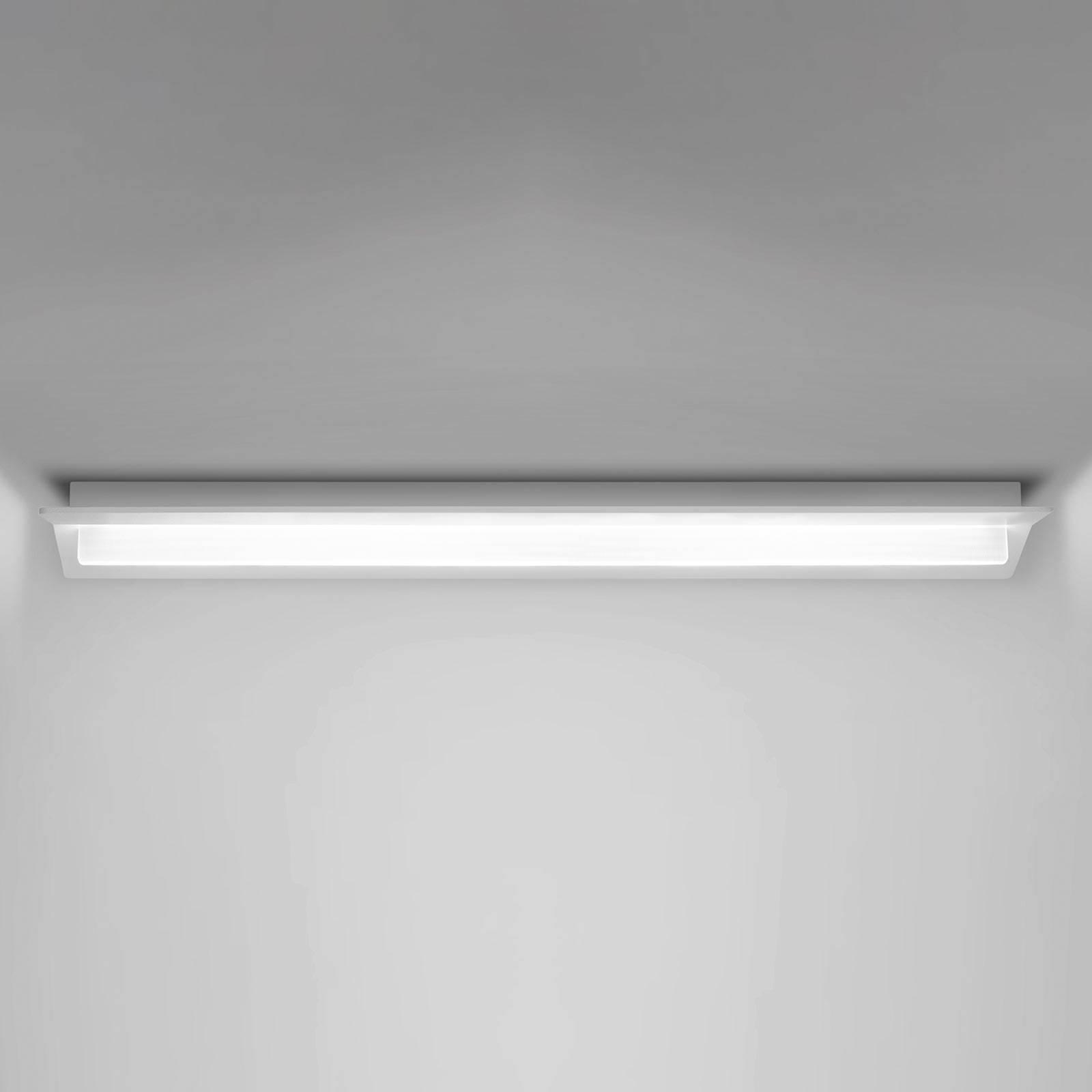LED-Deckenleuchte Flurry, 70 cm, weiß