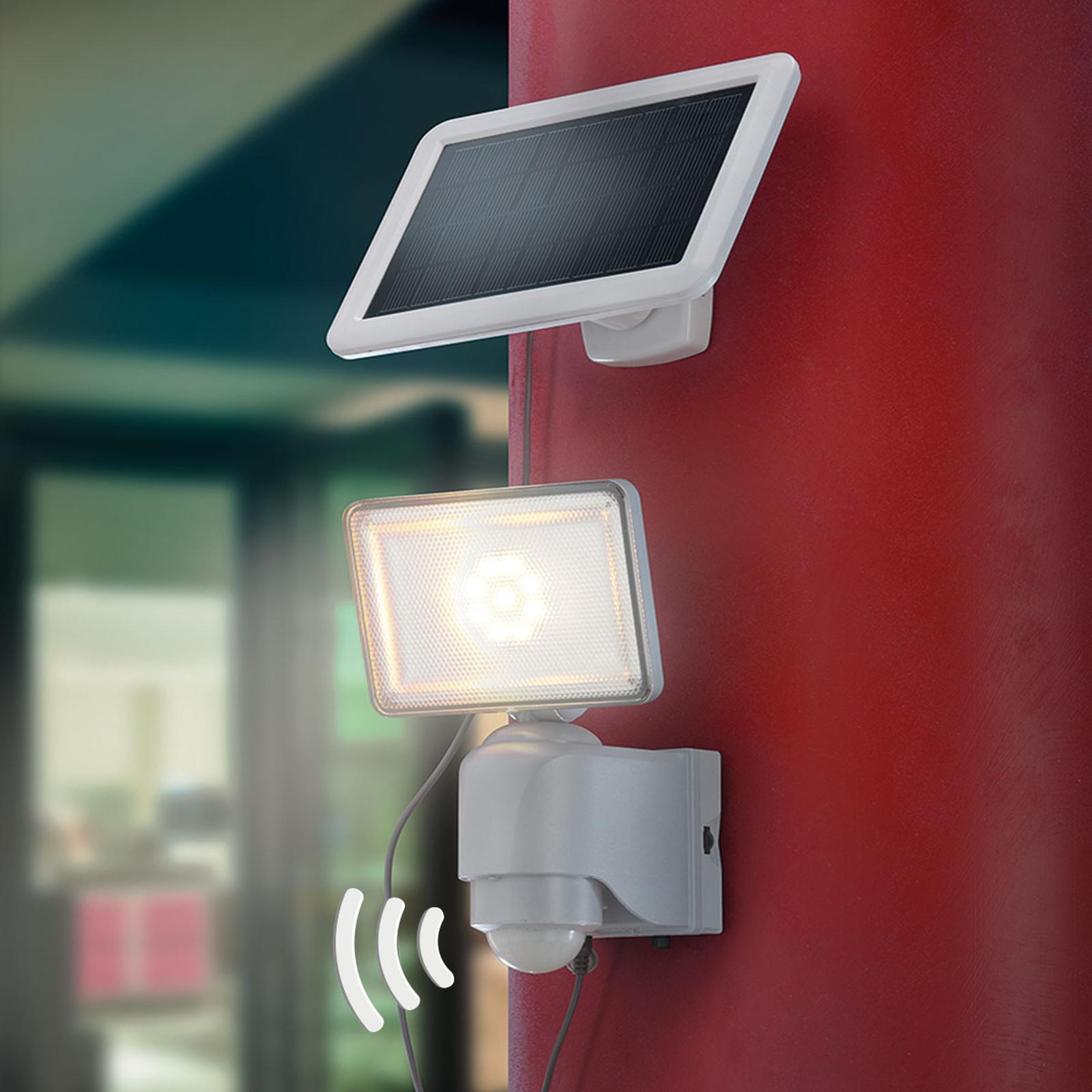 LED-Solar-Wandstrahler Power, 500 Lumen, IR-Sensor