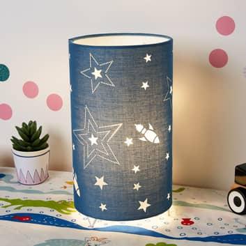 Pauleen Cute Universe bordlampe i blått